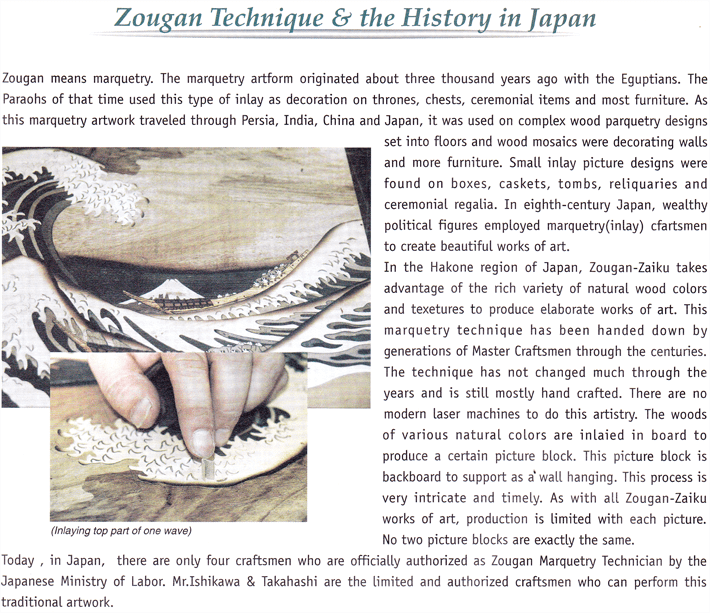 Zougan Technique & the History in Japan