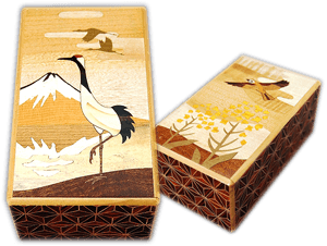 Zougan puzzle boxes